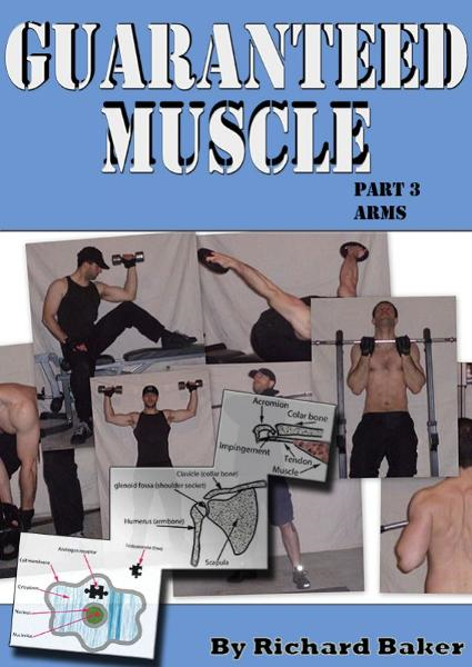 Guaranteed muscle part 3 Arms By: Richard Baker