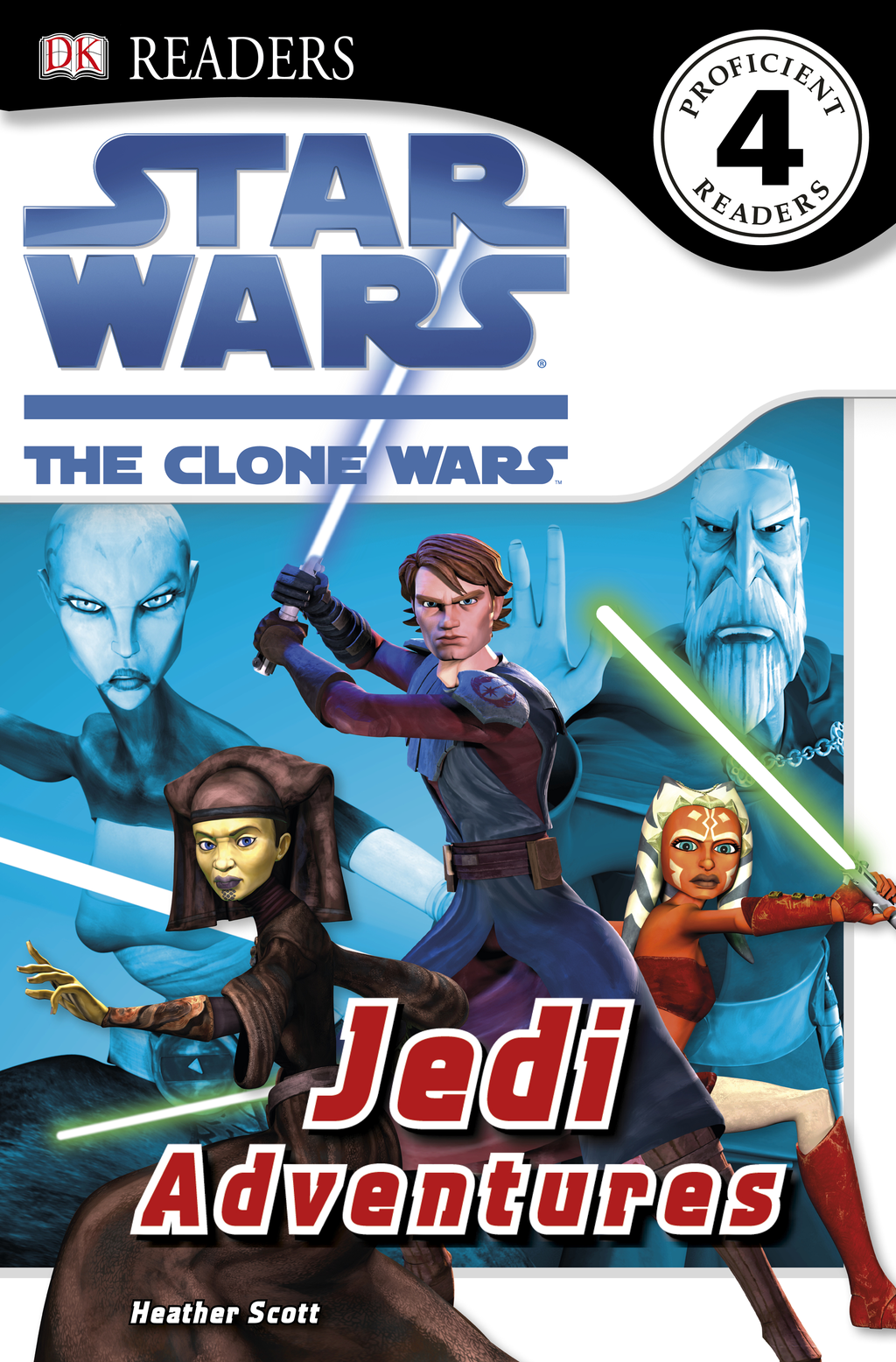 DK Readers: Star Wars: The Clone Wars: Jedi Adventures By: Simon Beecroft