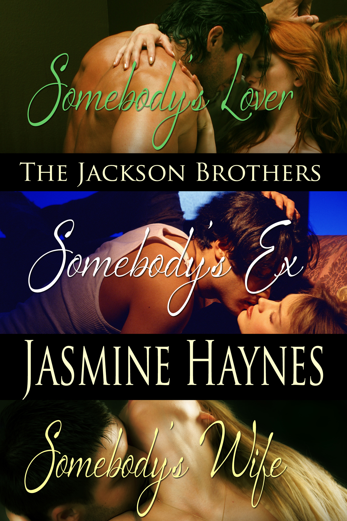 Jennifer Skully  Jasmine Haynes - The Jackson Brothers: 3-book Bundle