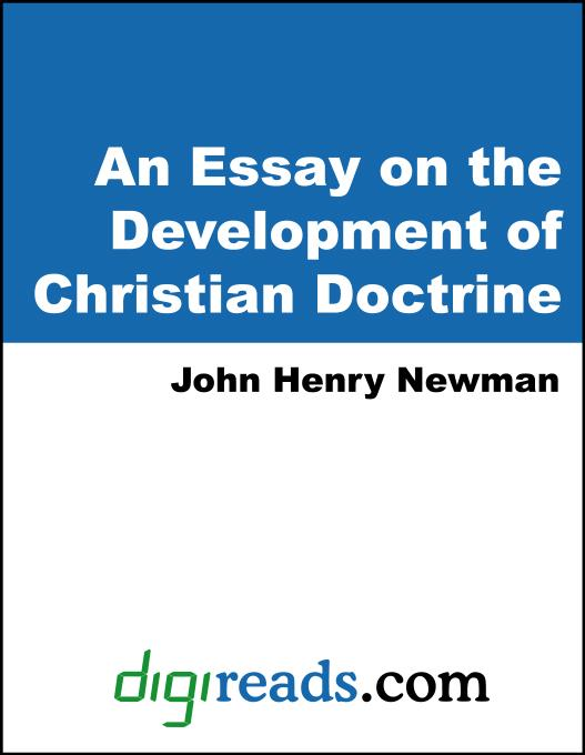newman essay development christian doctrine