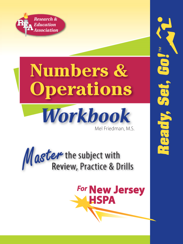New Jersey HSPA Numbers and Operations Workbook