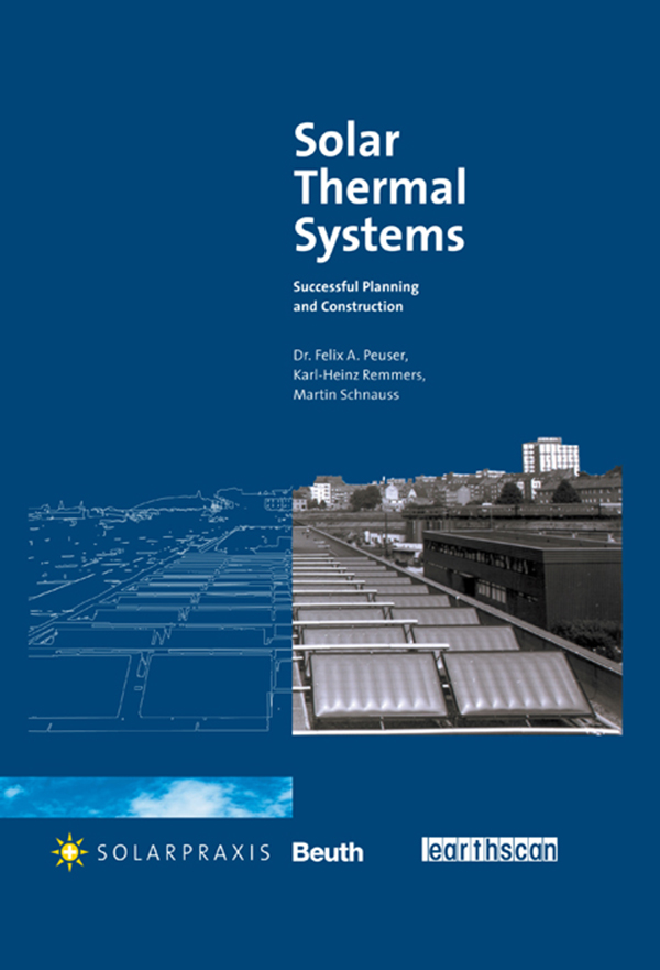 Solar Thermal Systems Successful Planning and Construction