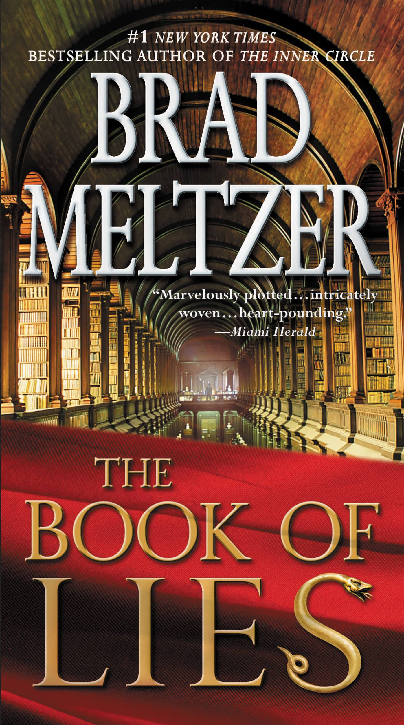 The Book of Lies By: Brad Meltzer