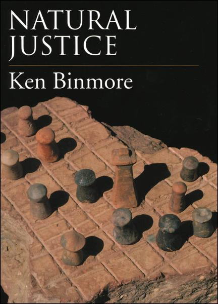 Natural Justice By: Ken Binmore
