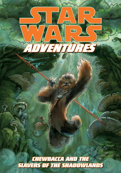 Star Wars Adventures: Chewbacca and the Slavers of the Shadowlands By: Chris Cerasi, Jennifer Meyer (Artist), Jennifer Meyer (cover artist)