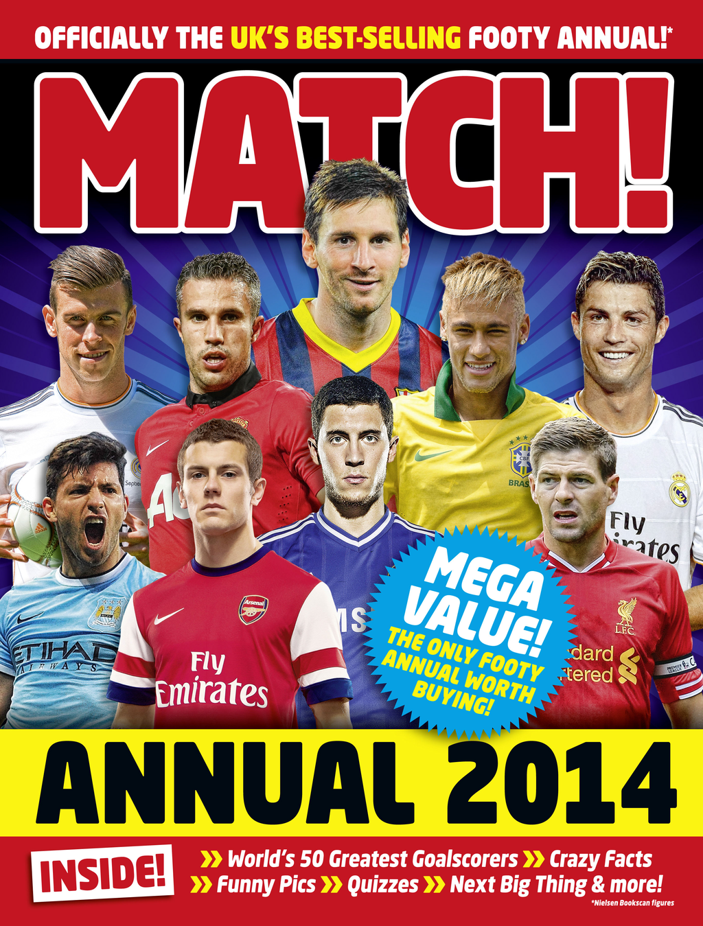 Match Annual 2014 From the Makers of the UK's Bestselling Football Magazine