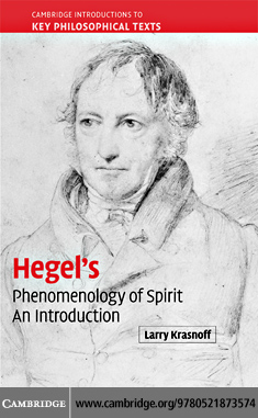 Hegel's 'Phenomenology of Spirit' By: Krasnoff,Larry