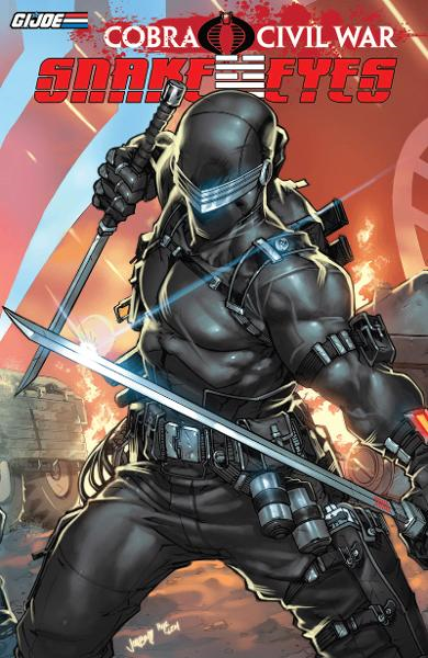 G.I Joe: Cobra Civil War - Snake Eyes Vol. 1 By: Dixon, Chuck; Atkins, Robert