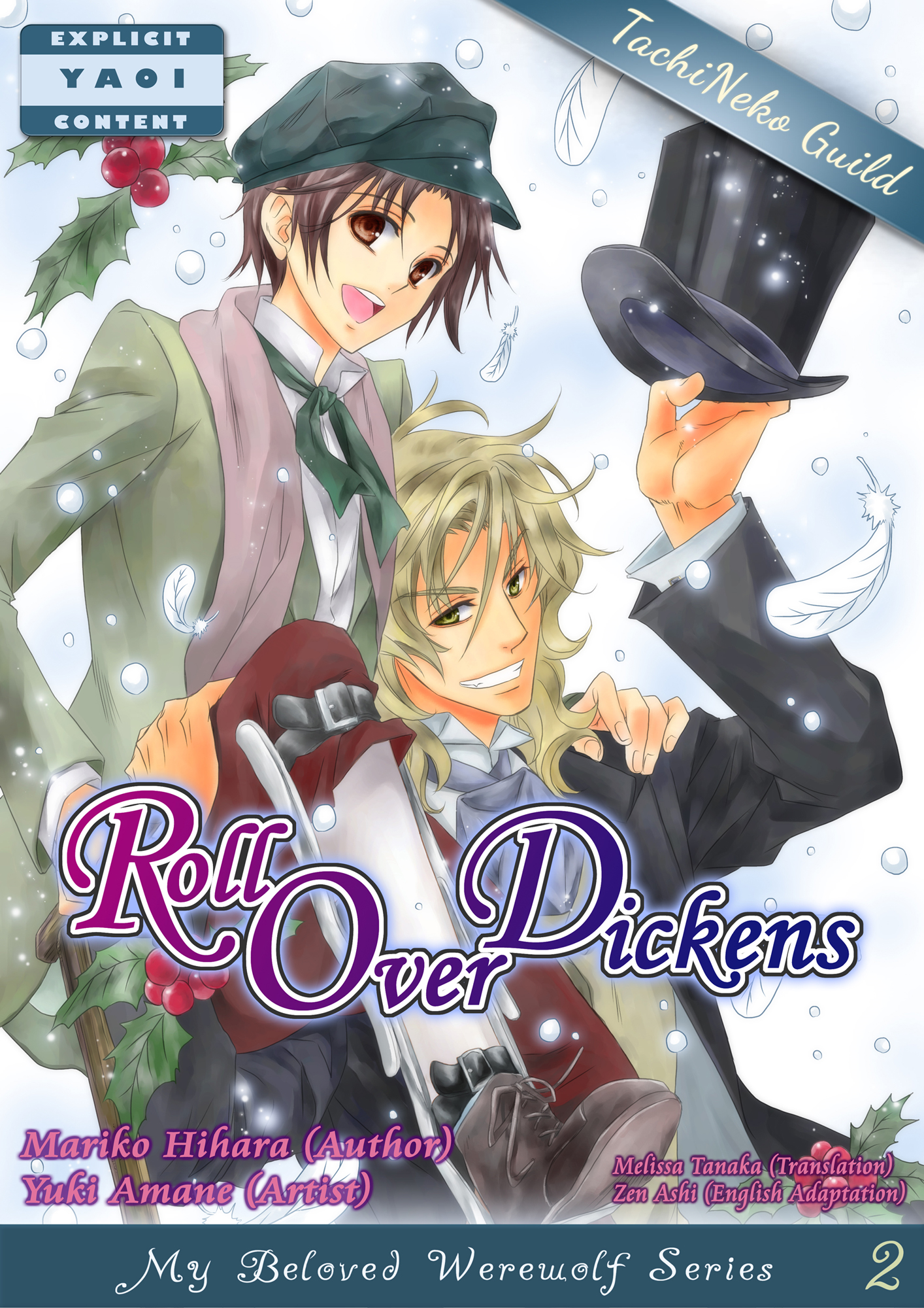 Roll Over Dickens(YAOI MANGA)