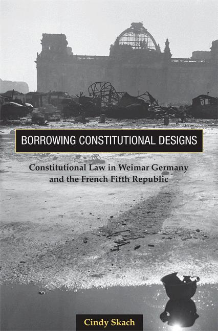 Borrowing Constitutional Designs By: Cindy Skach
