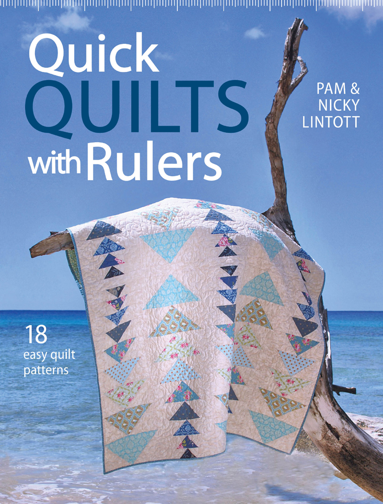 Quick Quilts with Rulers 18 easy quilts paterns for quick quilting