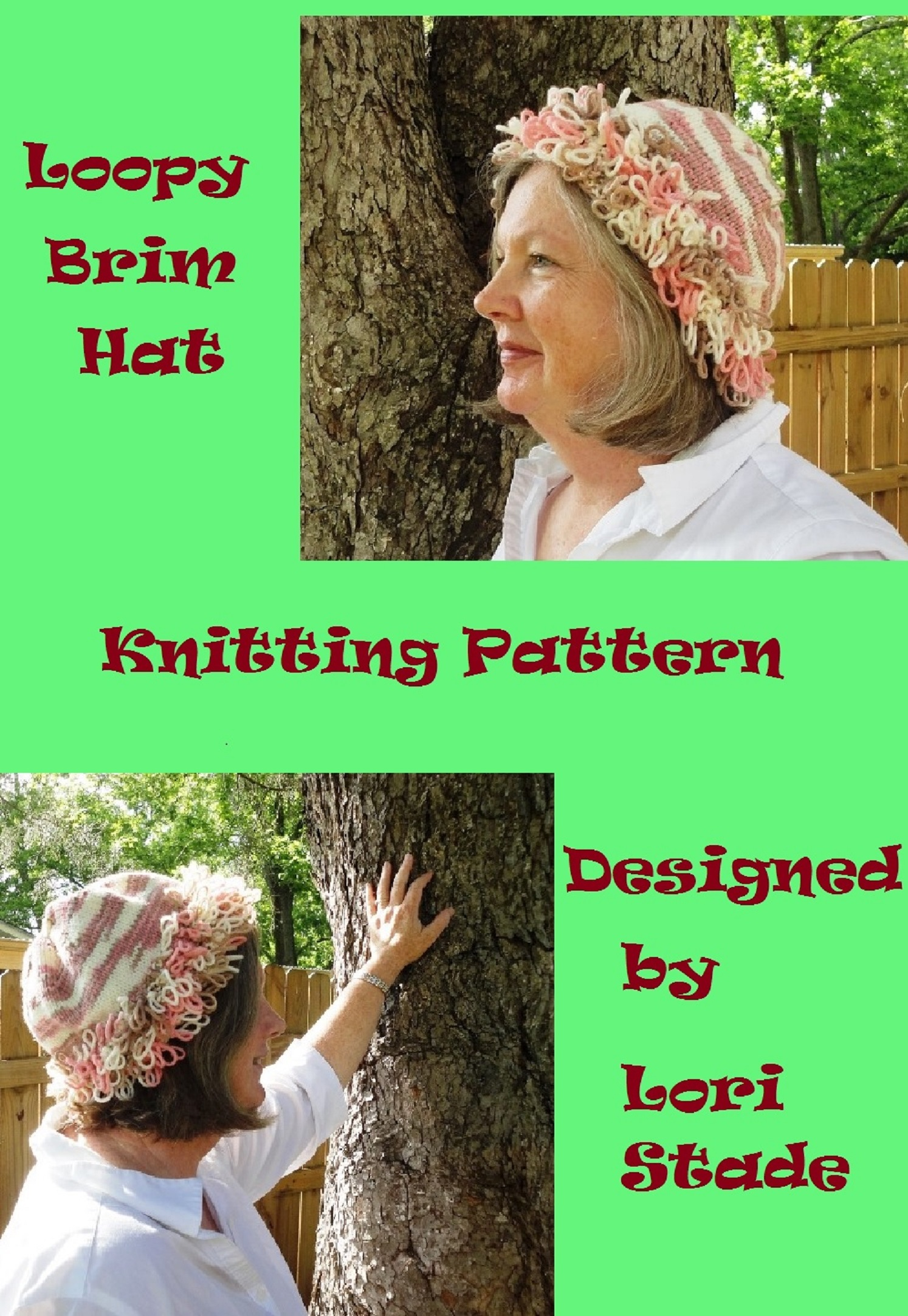 Loopy Brim Hat Knitting Pattern