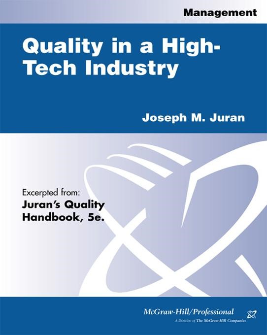 Quality in a High-Tech Industry
