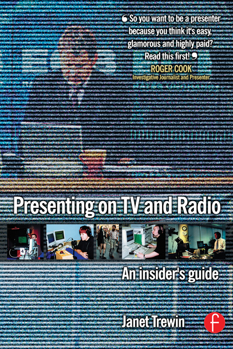 Presenting on TV and Radio An insider's guide