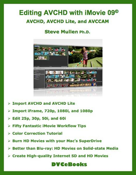 Editing AVCHD with iMovie 09