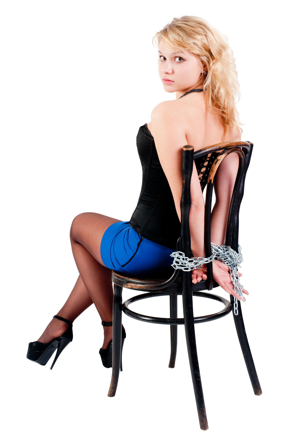 Привязанная верх ногами девушка к доске 2 фотография