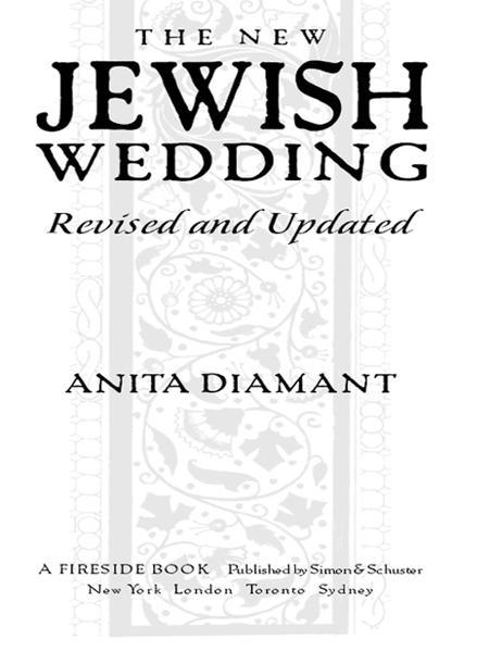 The New Jewish Wedding, Revised By: Anita Diamant