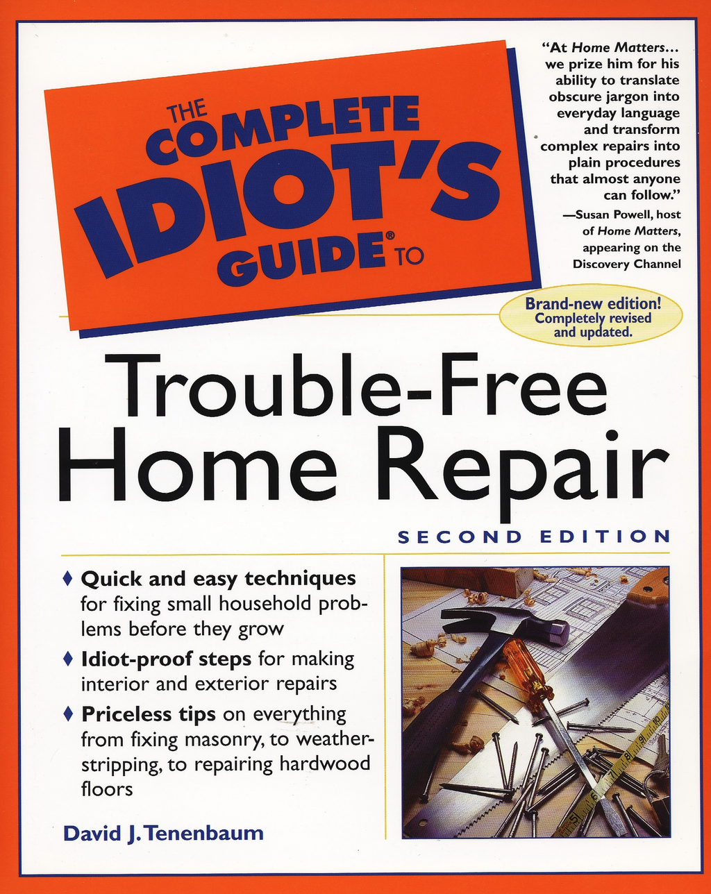 Complete Idiot's Guide to Trouble-Free Home Repair, 2E