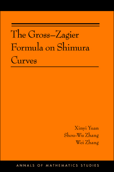 The Gross-Zagier Formula on Shimura Curves By: Shou-wu Zhang,Wei Zhang,Xinyi Yuan