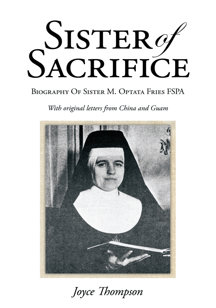 Sister of Sacrifice By: Joyce Thompson