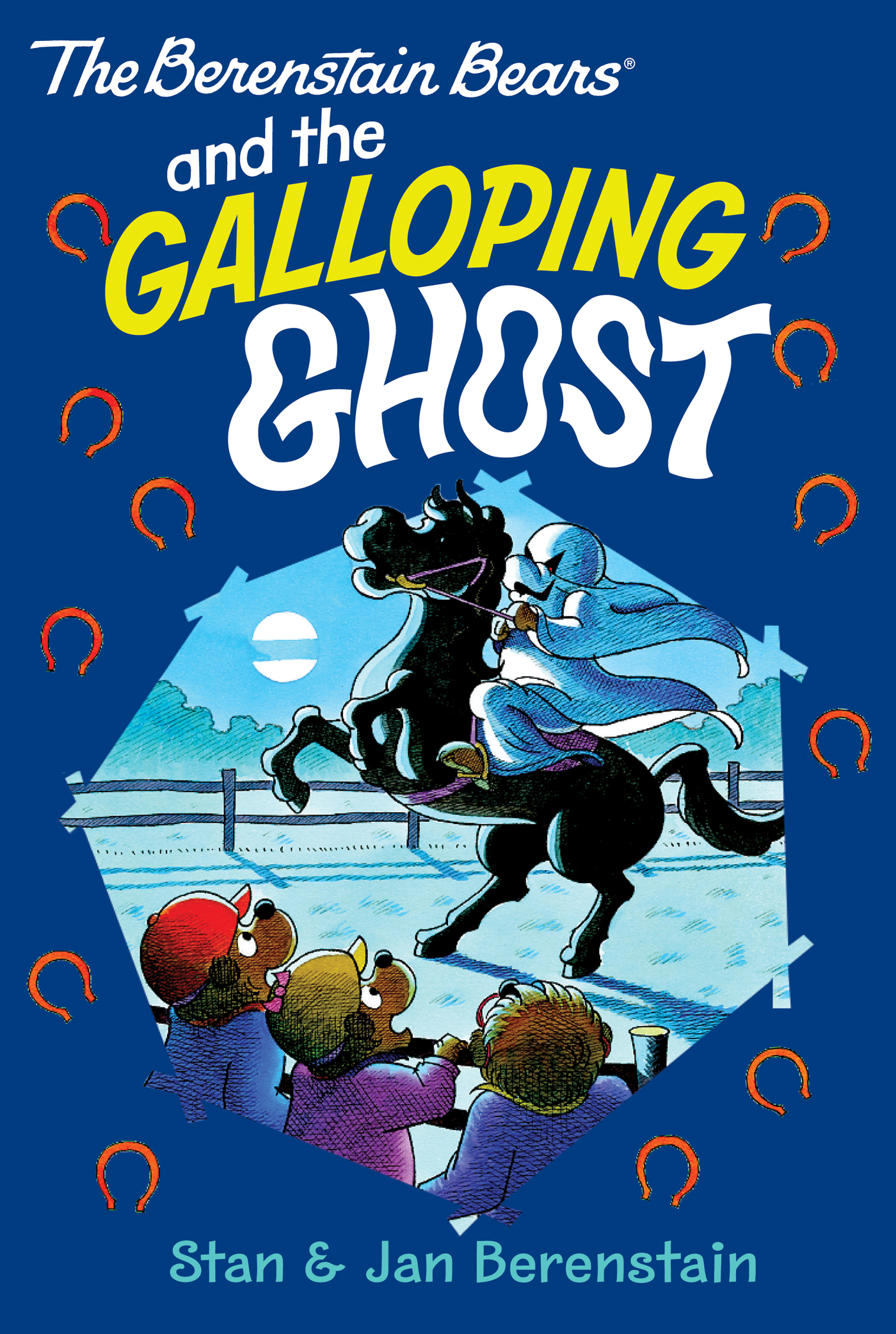 Book Cover: The Berenstain Bears Chapter Book: The Galloping Ghost