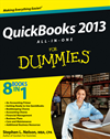 Quickbooks 2013 All-In-One For Dummies: