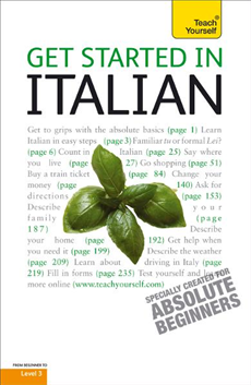 Get Started In Italian: Teach Yourself