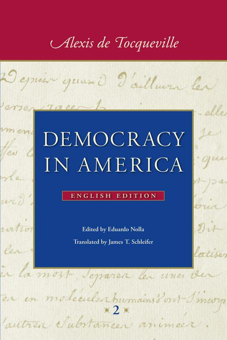 essay on democracy in america by alexis de tocque