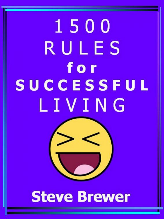 1500 Rules for Successful Living