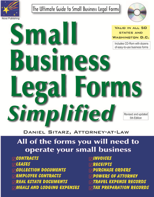 Small Business Legal Forms Simplified