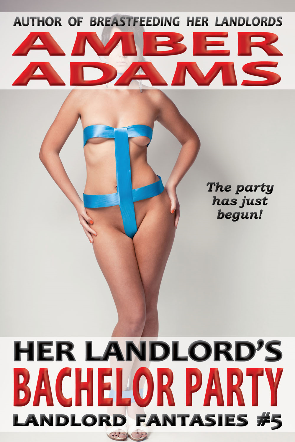 Amber Adams - Her Landlord's Bachelor Party