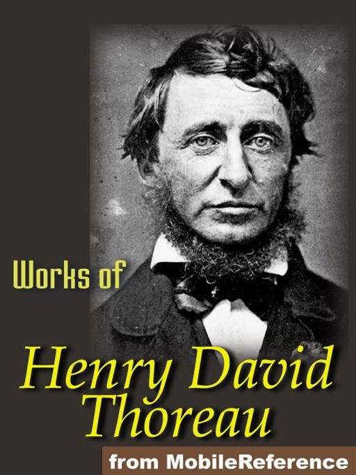 Collected essays and poems henry david thoreau