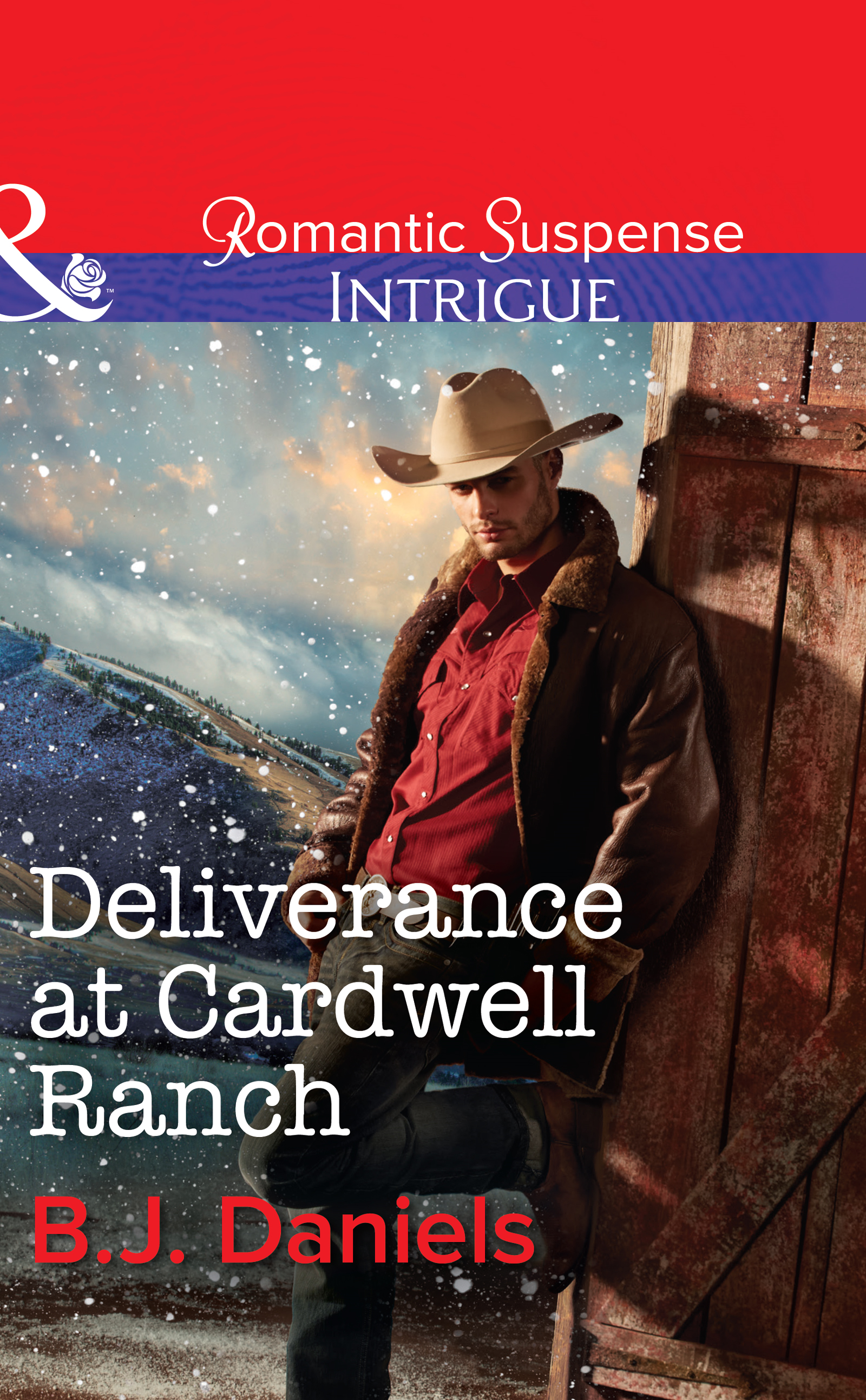 Deliverance at Cardwell Ranch (Mills & Boon Intrigue) (Cardwell Cousins - Book 3)