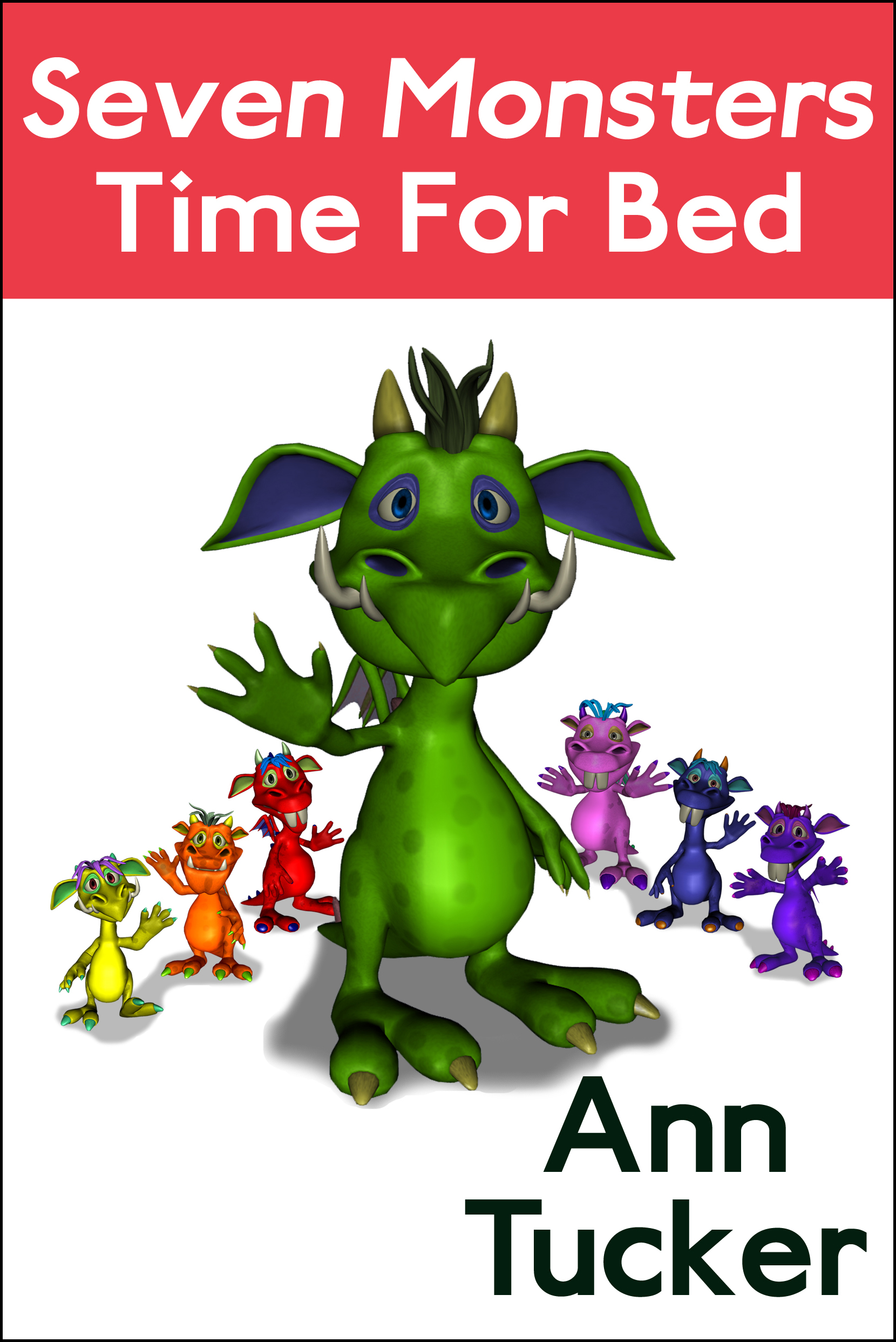 Seven Monsters Time for Bed