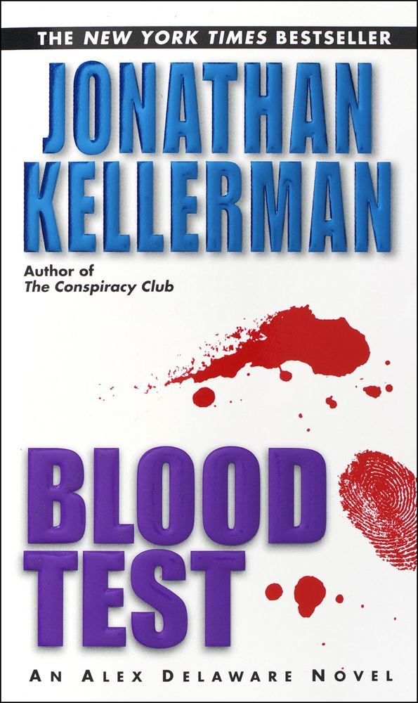 Blood Test By: Jonathan Kellerman