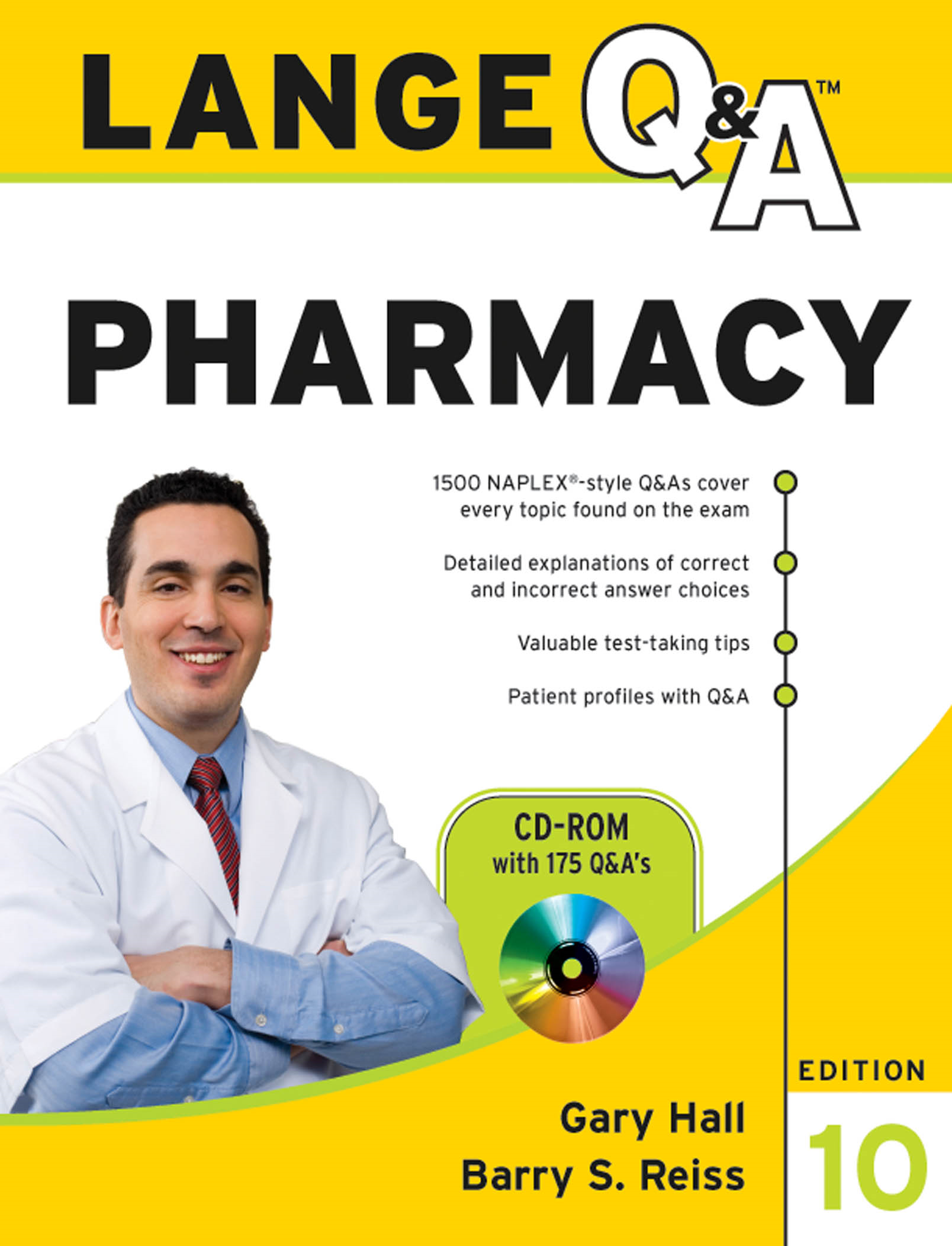 Lange Q&Amp;A Pharmacy, Tenth Edition