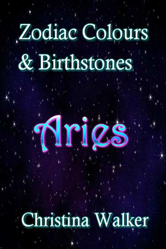 Zodiac Colours & Birthstones - Aries