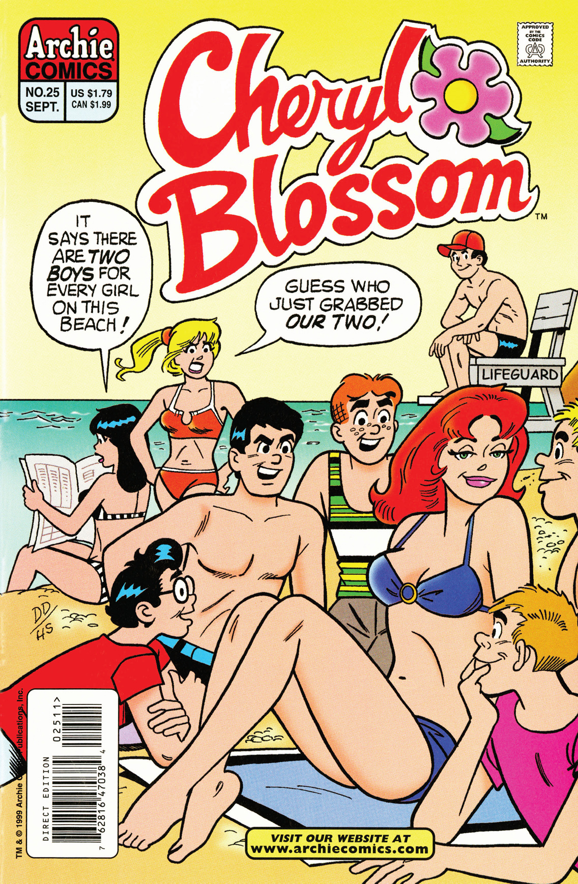 Cheryl Blossom #25 By: Holly G!, John Lowe, Dan DeCarlo, Bill Yoshida, Barry Grossman, Henry Scarpelli