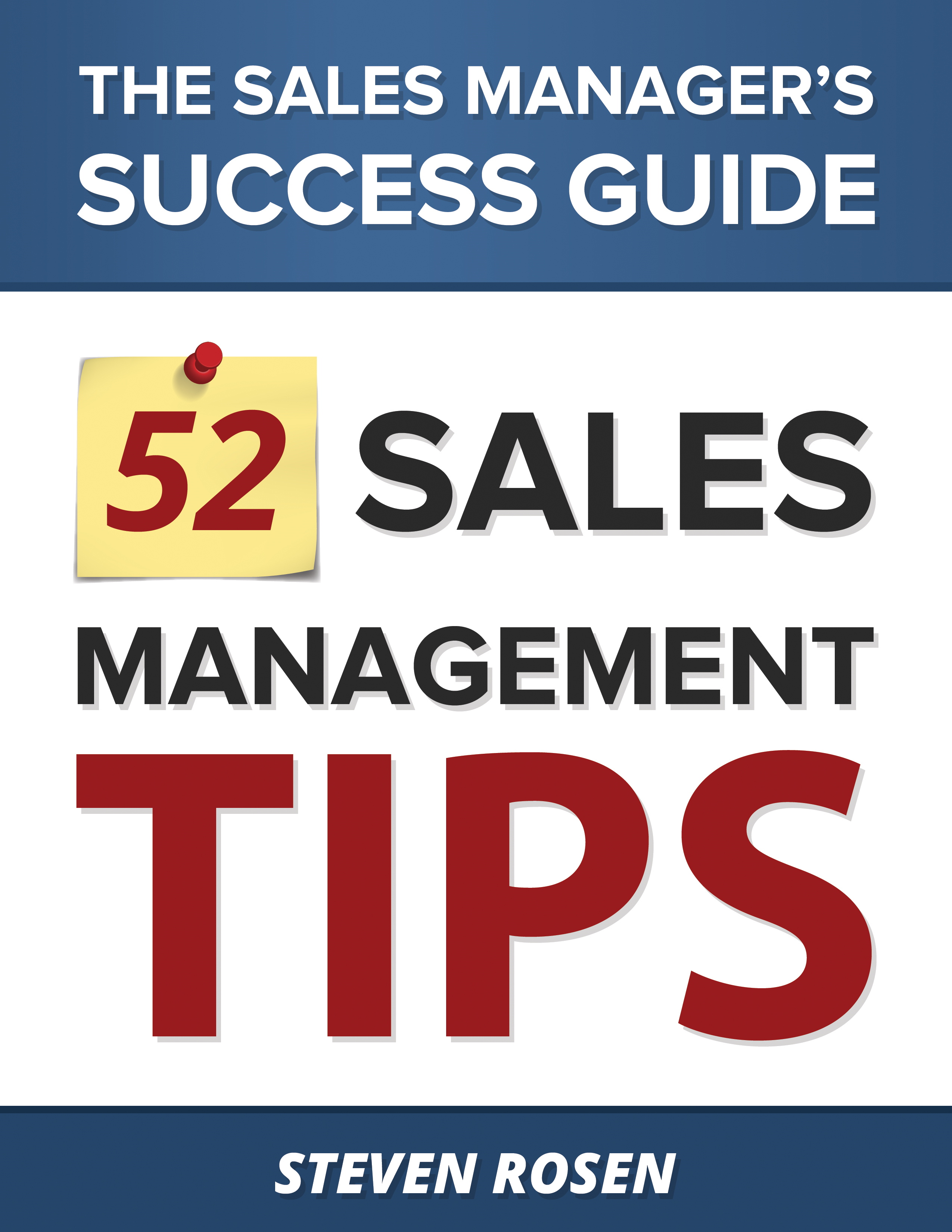 52 Sales Management Tips