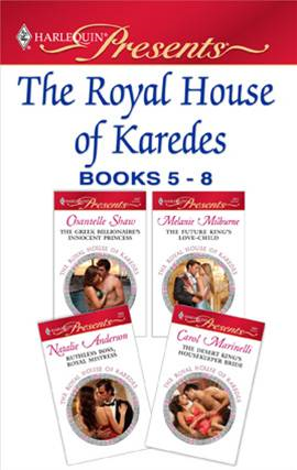 The Royal House of Karedes books 5-8