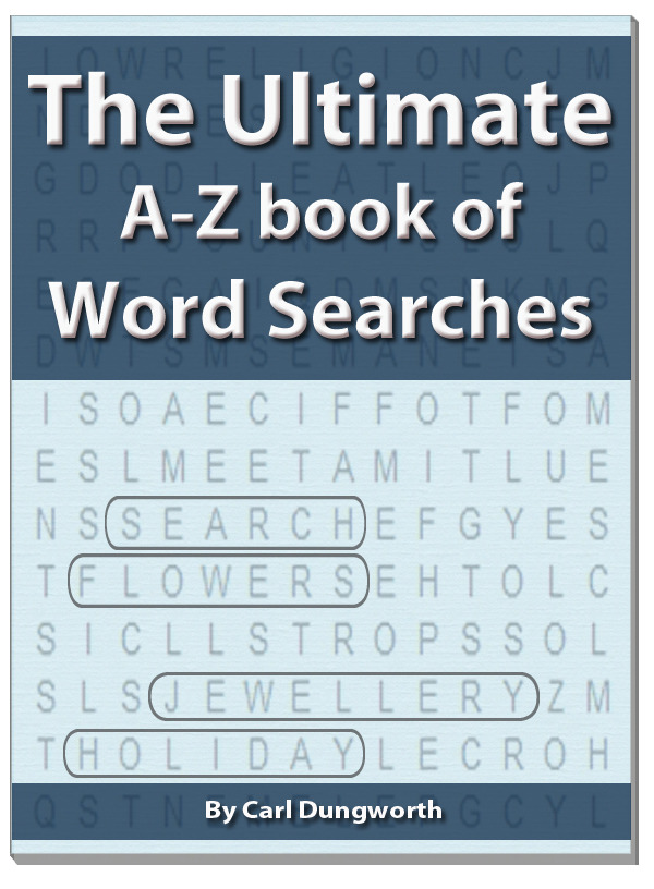 The Ultimate A-Z Book of Word Searches