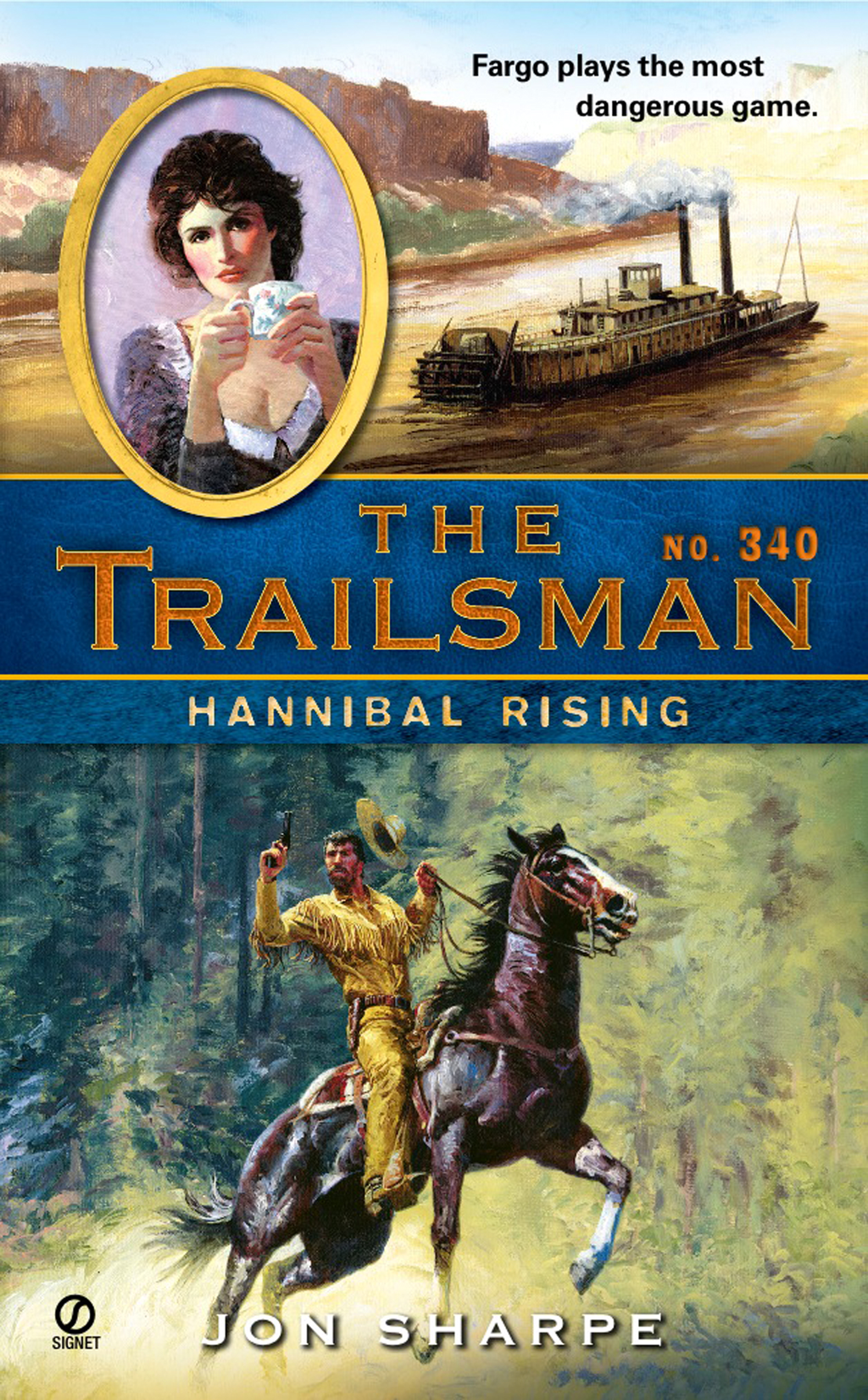 The Trailsman #340 By: Jon Sharpe