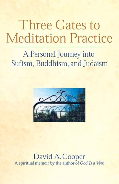 Three Gates to Meditation Practice: A Personal Journey into Sufism, Buddhism, and Judaism