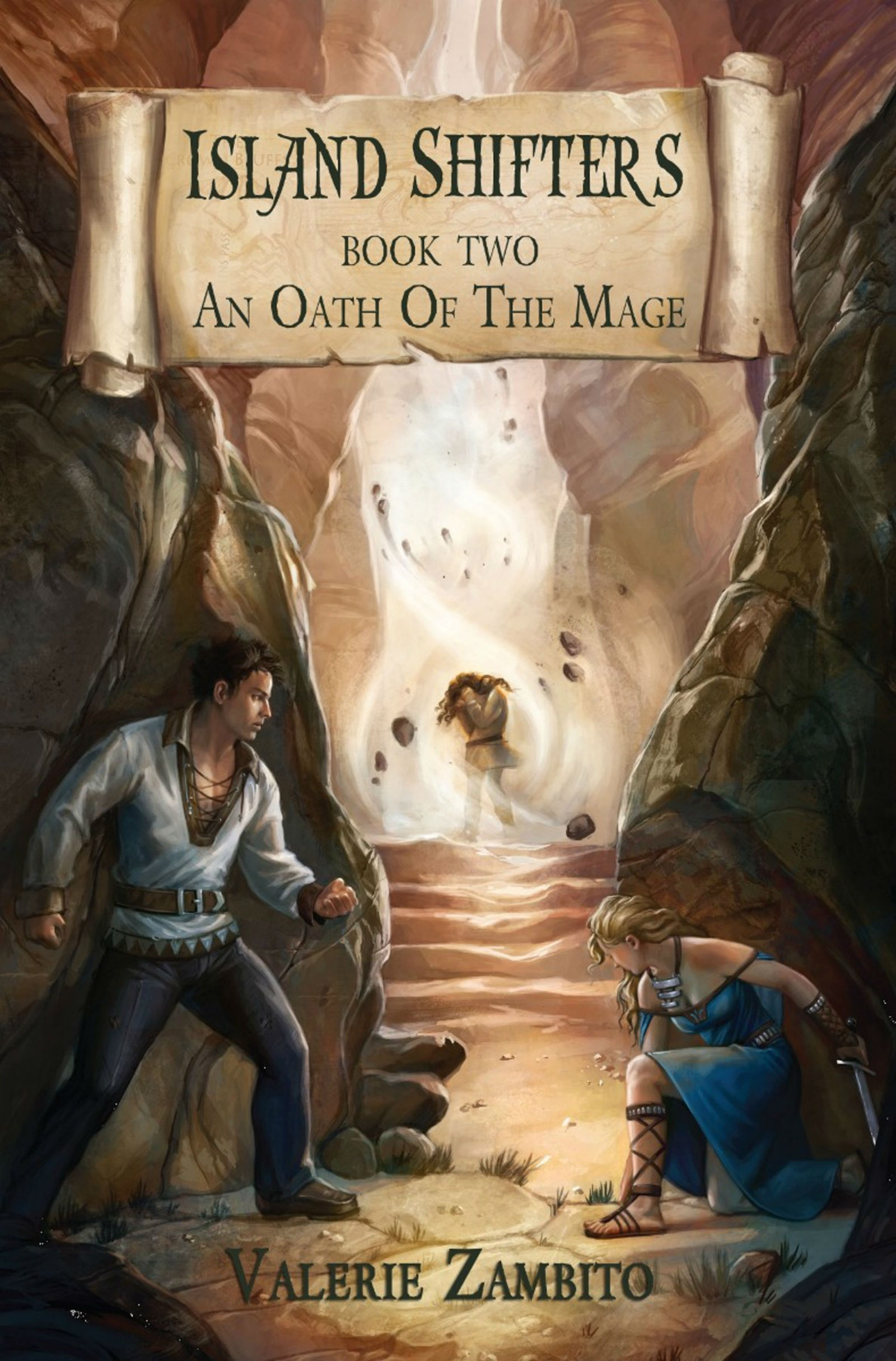 Island Shifters - An Oath of the Mage (Book Two) By: Valerie Zambito