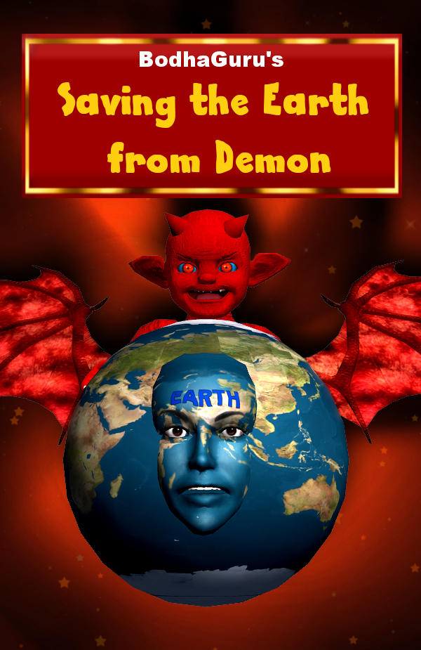 Saving the earth from demon