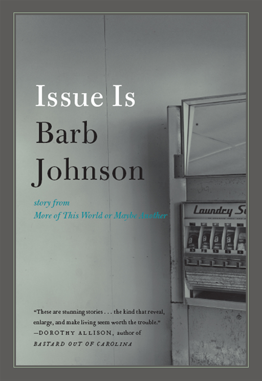 Issue Is By: Barb Johnson