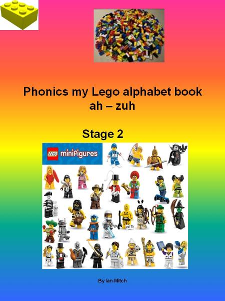 Phonics my Lego  Alphabet Book