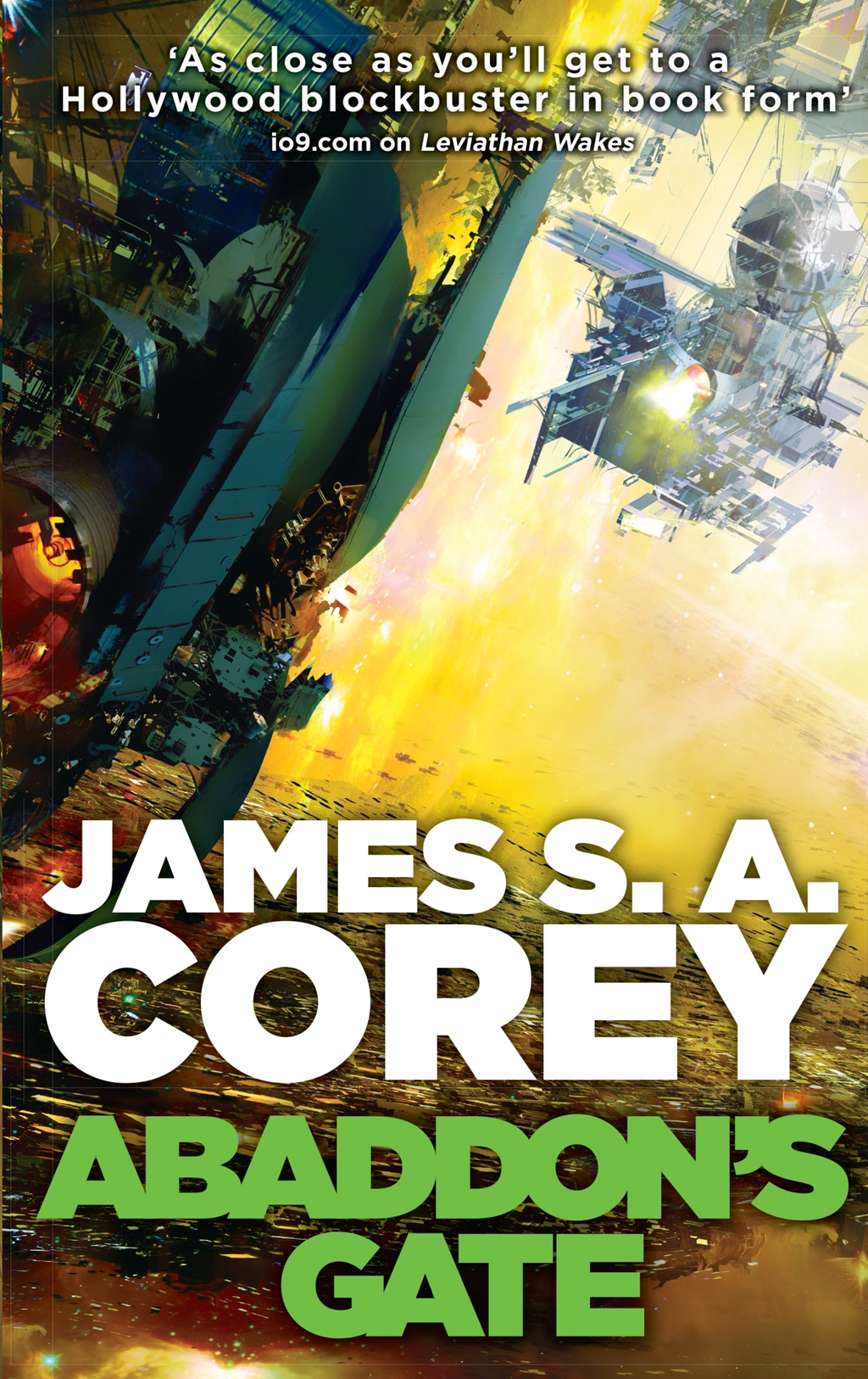 Abaddon's Gate Book Three of the Expanse series