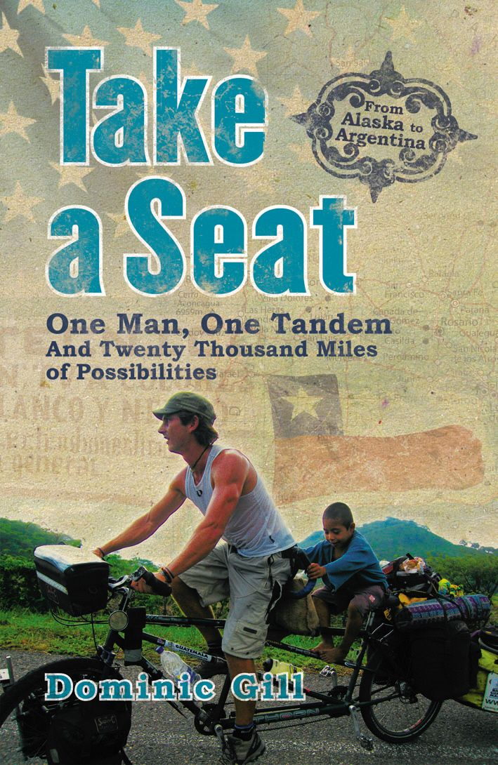 Take a Seat One Man,  One Tandem and Twenty Thousand Miles of Possibilities