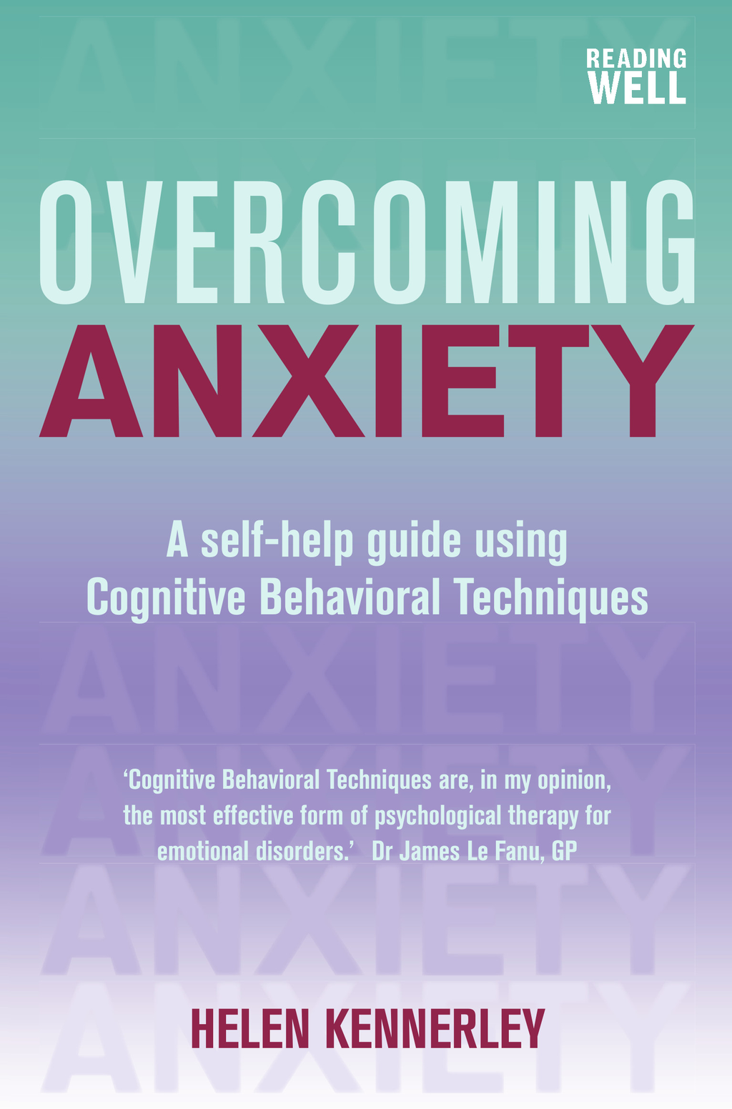 Overcoming Anxiety A Books on Prescription Title